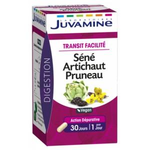 Купить Жувамин транзин сенна, листья артишока и чернослив (Juvamine, Health Promises) 30 капсул из категории Пищевые добавки