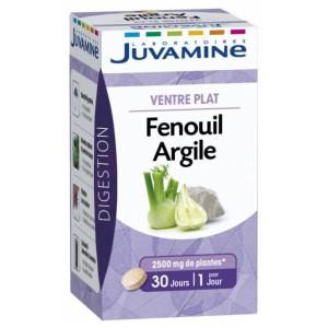 Купить Жувамин Фенхель и Глина плоский живот (Juvamine, Health Promises) 30 таблеток из категории Пищевые добавки