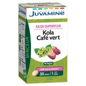 Купить Жувамин Кола Зеленый Кофе (Juvamine, Slimness Promises) 30 Таблеток из категории Пищевые добавки