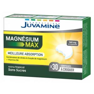 Купить Жувамин магний максимум (Juvamine, Minerals) 30 таблеток из категории Пищевые добавки
