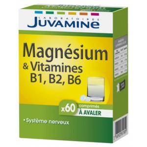 Жувамин Магний И Витамины В6 В2 В1 (Juvamine, Minerals) 60 таблеток