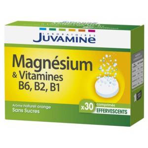 Купить Жувамин Магний И Витамины В6 В2 В1 (Juvamine, Minerals) 30 таблеток из категории Пищевые добавки