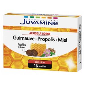 Жувамин мальва, прополис и мед (Juvamine, Health Promises)16 пастилок
