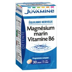 Купить Жувамин морской магний Витамин В6 (Juvamine, Minerals) 30 таблеток из категории Пищевые добавки