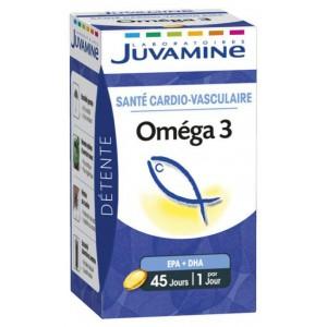 Купить Жувамин Омега-3  (Juvamine, Health Promises) 45 капсул из категории Пищевые добавки