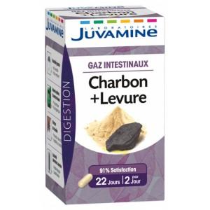 Купить Жувамин Фито уголь + дрожжи (Juvamine, Health Promises) 45 капсул из категории Пищевые добавки