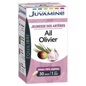 Купить Жувамин Фито чеснок и оливковое дерево (Juvamine, Health Promises) 30 капсул из категории Пищевые добавки