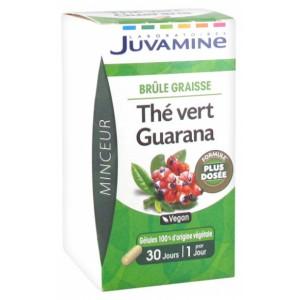 Купить Жувамин  Зеленый Чай Гуарана (Juvamine, Slimness Promise) 30 капсул  из категории Пищевые добавки