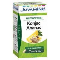 Juvamine Фито Ананас Конжак  (Juvamine, Slimness Promise) 42 капсулы