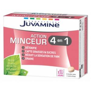 Купить Жувамин для похудения 4 действия в 1 (Juvamine, Slimness) 60 таблеток из категории Пищевые добавки