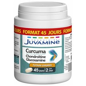 Купить Жувамин куркума с хондроитином и глюкозамин  (Juvamine, Health Promises) 90 таблеток из категории Пищевые добавки