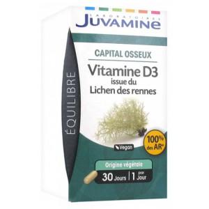Купить Жувамин витамин Д3 (Juvamine, Health Promises) 30 капсул из категории Пищевые добавки