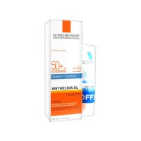 Ла Рош-позе Антгелиос XL крем-комфорт SPF 50 + увлажняющий уход после загара бесплатно (La Roshe Posay, Anthelios) 50+40ml