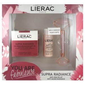 Купить Lierac для подарочный набор Супра сияние омолаживающий антиоксидантный ремонт крем-гель 50 мл из категории