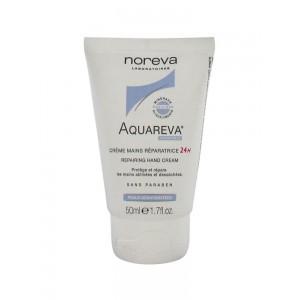 Купить Норева Акварева крем для рук 24ч восстанавливающий (Noreva Aquareva) 2 х 50 мл из категории