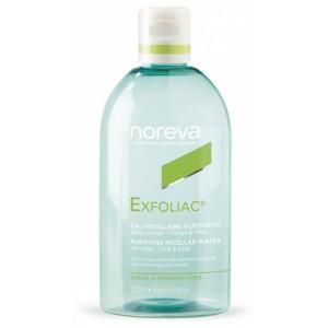 Купить Норева Эксфолиак мицеллярная очищающая вода (Noreva, Exfoliac) 500ml из категории Очищение/демакияж