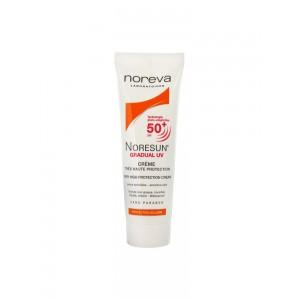 Купить Норева Норесан Градуал UV крем SPF 50+ (Noreva Noresun) 40мл из категории Для лица и тела