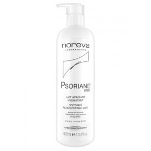 Купить Норева Псориан флюид увлажняющей успокаивающий (Noreva Psoriane) 400мл из категории Сухая и атопичная кожа