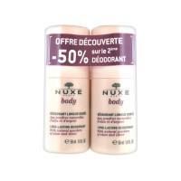 Нюкс Боди дезодорант-ролик длительная защита (Nuxe Body) 2 х 50 мл