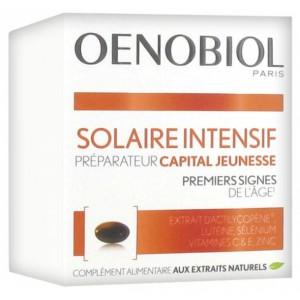 Купить Оенобиол Солар Интенсив молодость кожи капсулы усилитель загара (Oenobiol, Youth Sun)  30 капсул из категории Пищевые добавки