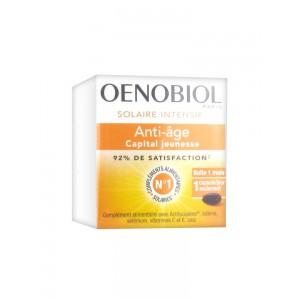 Oenobiol Enhancer Анти-эйдж для интенсивного загара (30 гель-капсул)