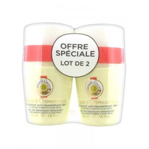 Купить Роже и Галле дезодорант-антиперспирант 48 часов (Roger&Gallet, Fleur d`Osmantus) 2 x 50 мл из категории Уход за телом