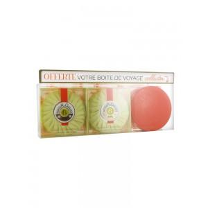 Купить Роже и Галле Fleur d'Osmanthus Парфюмированное Мыло+ Travel Box бесплатно (Roger & Gallet Fleur d'Osmanthus) 2х100г из категории Наборы