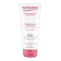 Нежный гоммаж для чувствительной кожи лица и тела (Topicrem) 200мл