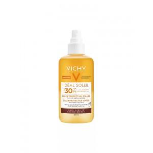 Виши Идеал Солей усовершенствованный загар солнцезащитная вода SPF 30 (Vichy Idéal Soleil) 200ml