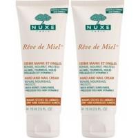 Нюкс крем для рук и ногтей Рэв Де Мьель (Nuxe Reve De Miel) 2х50ml