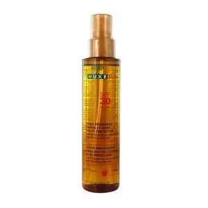 Нюкс Сан масло для загара для лица и тела  SPF30 (Nuxe, Sun) 150 ml