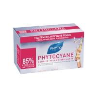Фитосольба Фитоциан сыворотка для роста волос для женщин (Phyto) 12x7,5 ml