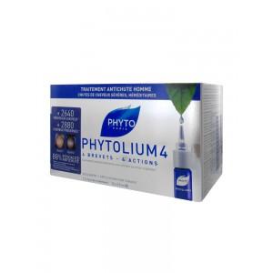 Фитосольба Фитолиум 4 сыворотка от выпадения волос для мужчин (Phyto) 12x3.5 ml