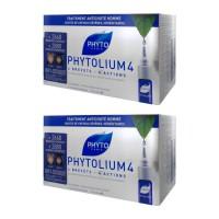 Фитосольба Фитолиум 4 сыворотка от выпадения волос для мужчин (Phyto) 2Х12 ам