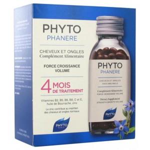 Купить Фитосольба Фитофанер капсулы для укрепления ногтей и волос (Phyto) 2x120 шт. из категории Пищевые добавки
