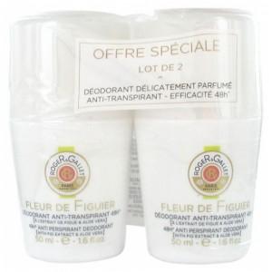 Купить Роже и Галле дезодорант-антиперспирант (Foger&Gallet, Fleur d`Figuier) 2 х 50мл из категории Дезодоранты