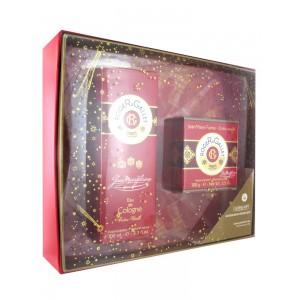 Роже и Галле набор подарочный мыло парфюмированное+вода Gean Marie Farina (Roger&Gallet,  Gean Marie Farina) 100 g+100 мл