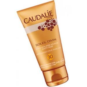 Каудаль антивозрастной солнцезащитный уход для лица c SPF 30 Солей Дивин (Caudalie Soleil Divin)