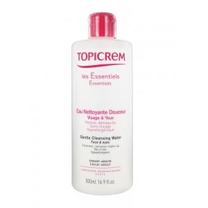 Топикрем Вода очищающая для лица и глаз (Topicrem, Essentials) 500 ml