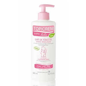 Топикрем молочко очищающее Био для лица и тела детское (Topicrem, Bebe Bio) 500 ml