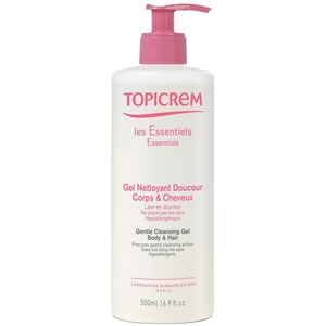 Купить Топикрем гель для тела и волос (Topicrem, Essentials) 500 ml из категории Мама и малыш