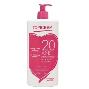 Купить Топикрем Ультра-Увлажняющее молочко для тела для сухой и обезвоженной кожи (Topicrem, Essentials) 1л из категории Уход за телом