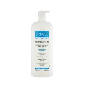 Купить Урьяж Очищающий пенящийся крем без мыла (Uriage, Lavante) 1000 ml из категории Уход за телом