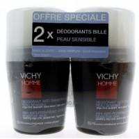Виши Homme Дезодорант для чувствительной кожи  (Vichy Homme) 50х2 ml