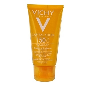 Купить Виши Капиталь Солей эмульсия солнцезащитная антиблеск SPF 50 (Vichy, Capital Soleil) 50 ml из категории Солнцезащитные средства