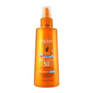 Виши Капиталь Солей Детский солнцезащитный спрей SPF 50+  (Vichy Capital Soleil) 200 ml