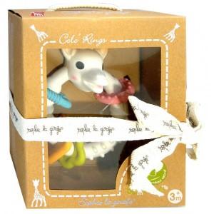 Прорезыватель жираф Софи в подарочной коробке 3месяца+ (Vulli Sophie)