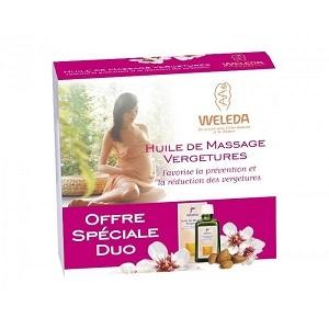 Купить Веледа масло массажное против растяжек (Weleda) 100x2 ml из категории Мама и малыш