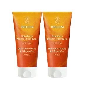 Купить Веледа крем-гель для душа с маслом облепихи (Weleda) 2Х200 ml из категории Уход за телом