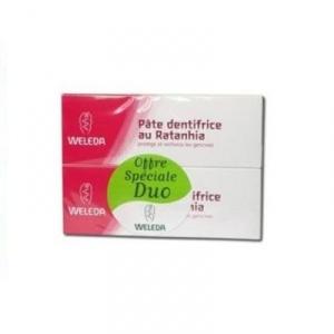 Купить Веледа зубная паста Ратания (Weleda) 2x75 ml из категории Уход за полостью рта